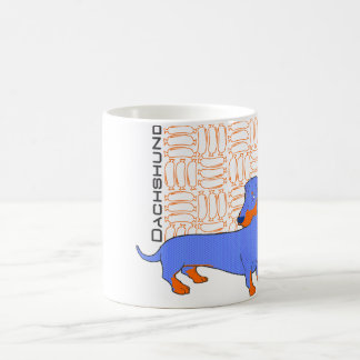 Dachshund the sausage coffee mug