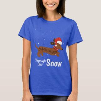 Dachshund through the Snow Shirt