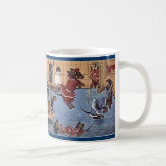 Dachshund Vintage Mug