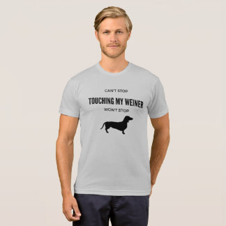 Dachshund Weiner Dog, Doxie Lovers Can't Stop T-Shirt