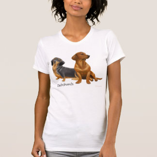 Dachshund Wiener Dogs Scoop Neck Shirt