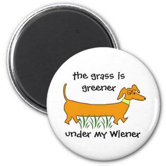 Dachshund Wiener Magnet