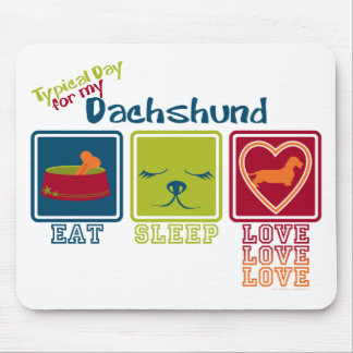 Dachshund [Wire-haired] Mouse Pad