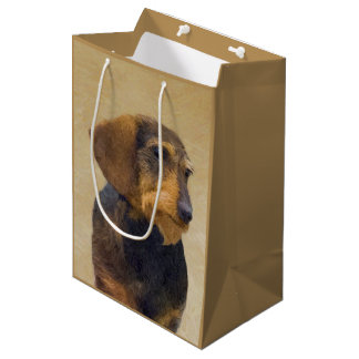 Dachshund (Wirehaired) Medium Gift Bag