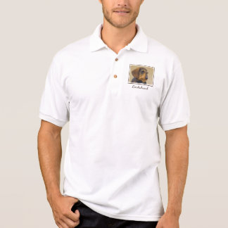 Dachshund (Wirehaired) Polo Shirt