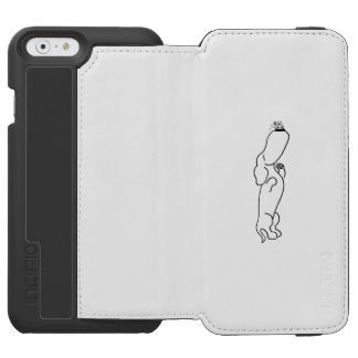 Dachshund with Butterfly Incipio Watson™ iPhone 6 Wallet Case