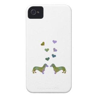 Dachshunds iPhone 4 Case-Mate Case