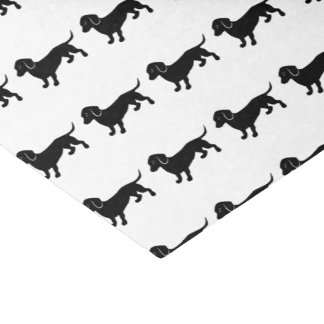 "Dachshunds Pattern 10"" X 15"" Tissue Paper"