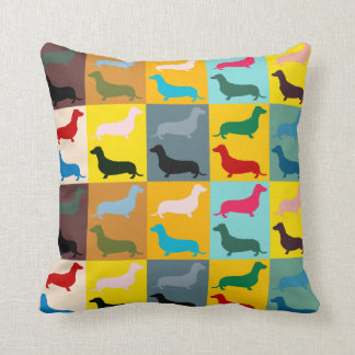 Dachshunds Throw Pillow Throw Cushions