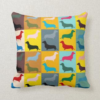 Dachshunds Throw Pillow Throw Cushions