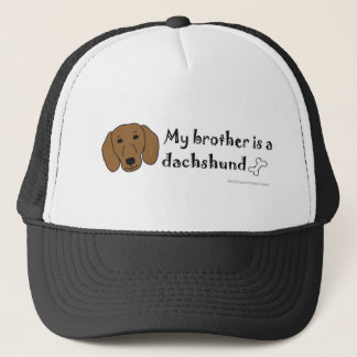 DachshundTanBrother Trucker Hat