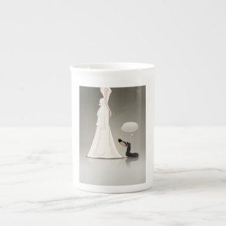 Dachsund and Bride Tea Cup