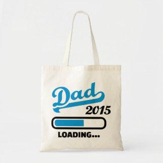 Dad 2015 loading canvas bag
