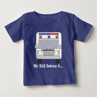 Dad ambulance Driver baby boy t-shirt