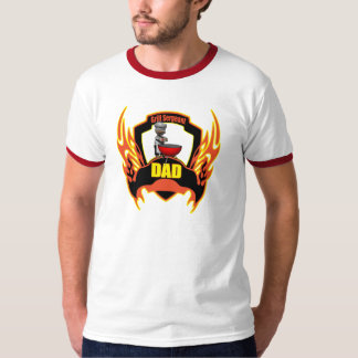 Dad Barbecues T Shirts