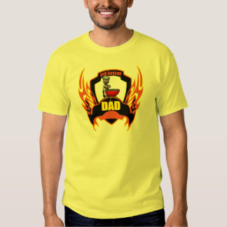 Dad Barbecues Tshirt