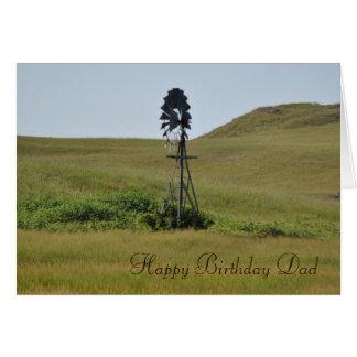Dad Birthday Template Greeting Card