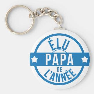 Dad/Dad/Daddy/Vati/Dad Basic Round Button Key Ring