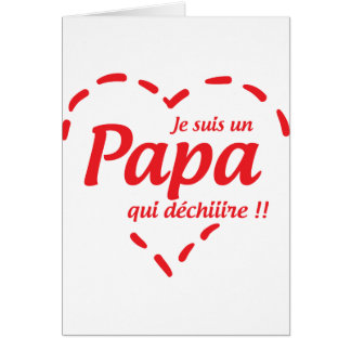 Dad/Dad/Daddy/Vati/Dad Greeting Card
