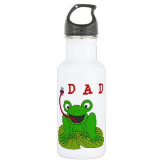 Dad Frog On Lillyput 532 Ml Water Bottle
