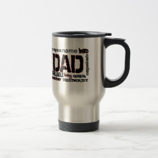 Dad Gift Add Name to text Father Travel Mug