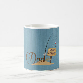 Dad Gone Fishing Coffee Mug