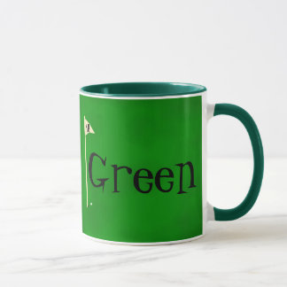 Dad gone green