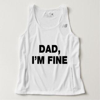 Dad I'm Fine Singlet