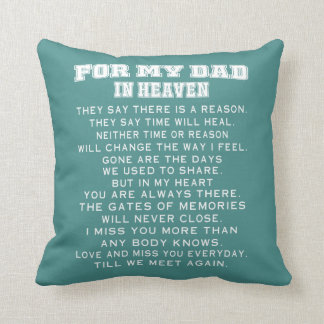 DAD IN HEAVEN CUSHION
