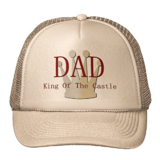 Dad King Of The Castle Mesh Hats
