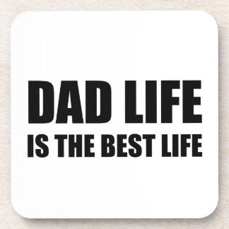 Dad Life Best Life Coaster