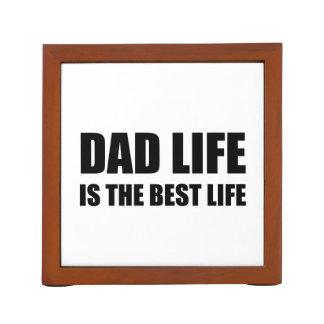 Dad Life Best Life Desk Organiser