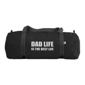 Dad Life Best Life Gym Bag