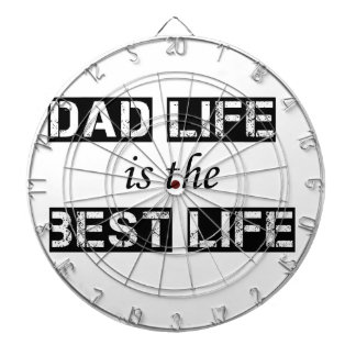 dad life is the best life dartboard