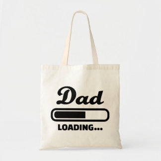 Dad loading Baby Canvas Bags