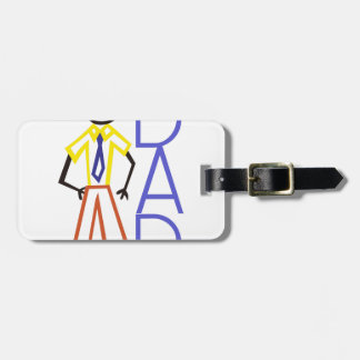 Dad Luggage Tag