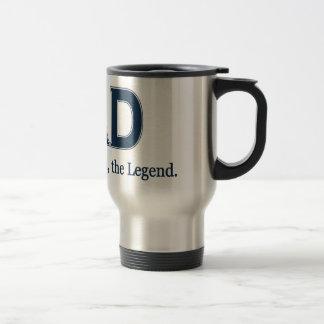 Dad Man Myth Legend 15 Oz Stainless Steel Travel Mug
