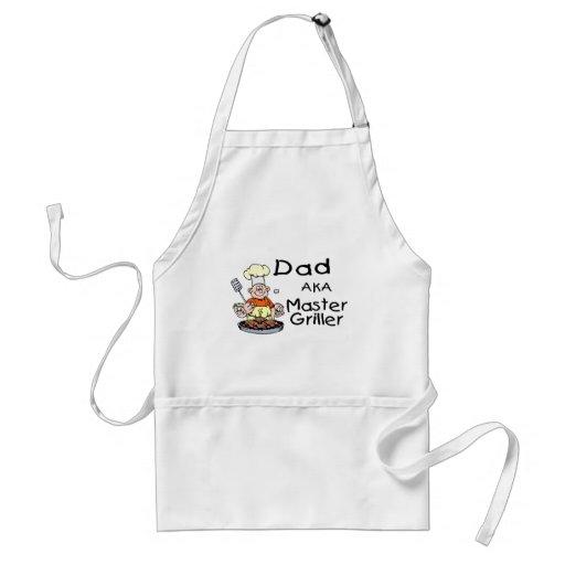 Dad Master Griller Adult Apron