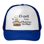 Dad Master Griller Mesh Hat