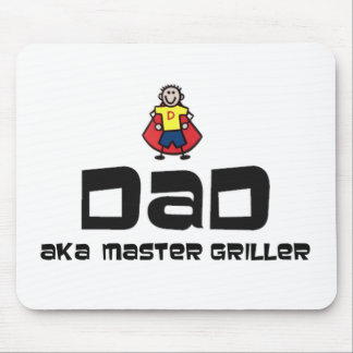 Dad, Master Griller Mouse Pad