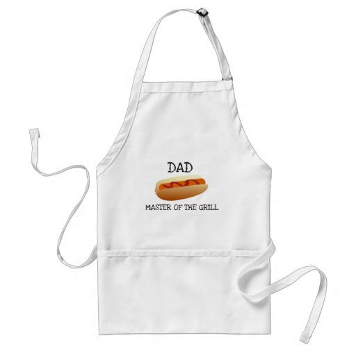 Dad Master of the Grill - Hot Dog Aprons
