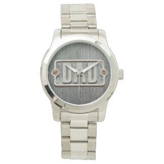 DAD Metal plate watch