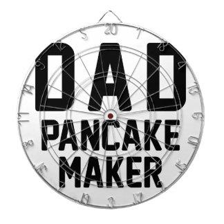 Dad Pancake Maker Dartboard With Darts