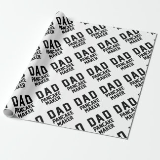 Dad Pancake Maker Wrapping Paper