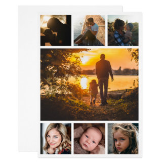 Dad Photo Collage Father's Day Card