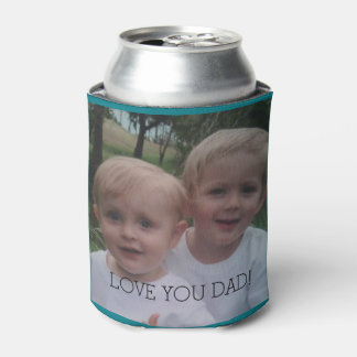 Dad photo gift beer cooler Father's Day