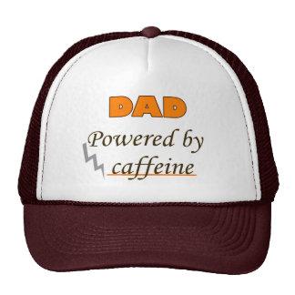 Dad Powered by caffeine Cap
