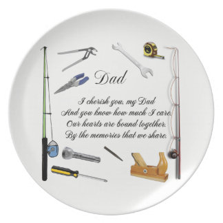 DAD QUOTE PLATE