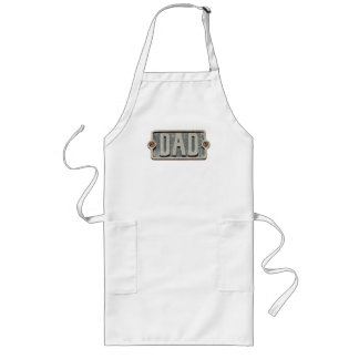 DAD Rustic Metal plate apron