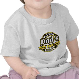Dad s Taxi Service Logo T-shirt